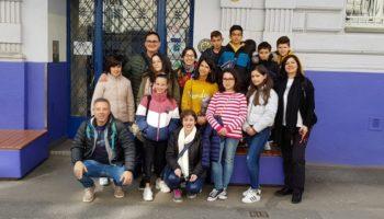 Alumnos y profesores del Colegio 'Gloria Fuertes' viajaron a Croacia con el proyecto 'Listen, look and take part in! This is our cultural heritage'