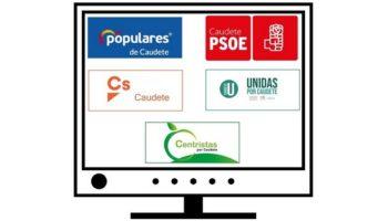 Esta tarde se grabará en Almansa el debate entre los cinco candidatos a la alcaldía de Caudete