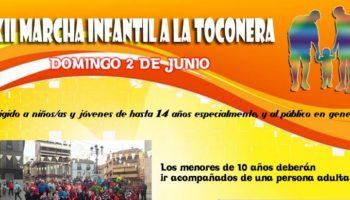 El domingo 2 de junio se celebrará la XII Marcha Infantil a La Toconera