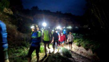 El Centro Excursionista celebró con éxito el Trail Nocturno Caudete - Yecla, y este fin de semana colaborará en el XII Encuentro CLM de Espeleología