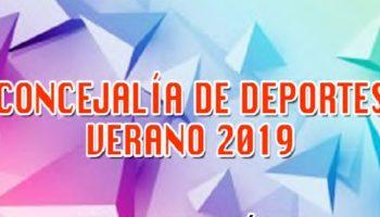 La Concejalía de Deportes del Ayuntamiento de Caudete publica el programa de actividades deportivas para el próximo verano