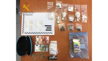 Detenido un joven de Caudete por tráfico de drogas