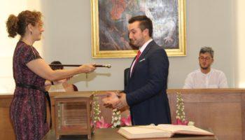 Moisés López, elegido Alcalde de Caudete tras constituirse la nueva Corporación Municipal