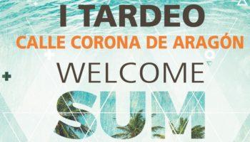 El sábado 22 de junio habrá 'tardeo' en la calle Corona de Aragón