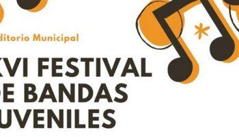 Mañana se celebrará el XVI Festival de Bandas de Música Juveniles