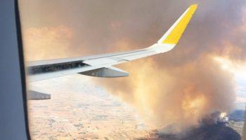 El incendio de Beneixama sigue activo y ya se han quemado 900 hectáreas