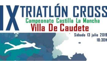 El próximo sábado 13 de julio Caudete celebrará una nueva edición del Triatlón Cross Villa de Caudete