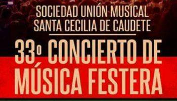 El 30 de agosto se celebrará el Concierto Festero en la Plaza del Carmen de Caudete
