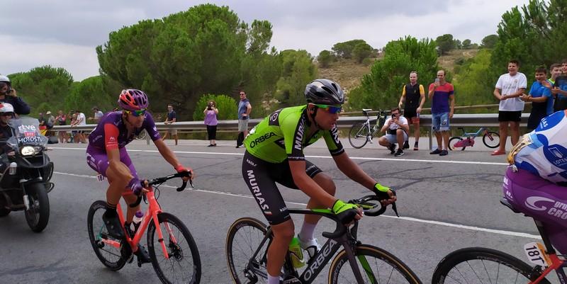 Gran etapa del caudetano Héctor Sáez en la Vuelta Ciclista a España, Caudete Digital - Noticias y actualidad de Caudete (Albacete)