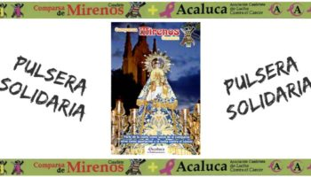La Comparsa de Mirenos ha realizado una pulsera solidaria a beneficio de ACALUCA