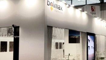 Bolmax presenta en MARMOMAC el mármol Marrón Imperial que extrae en Caudete