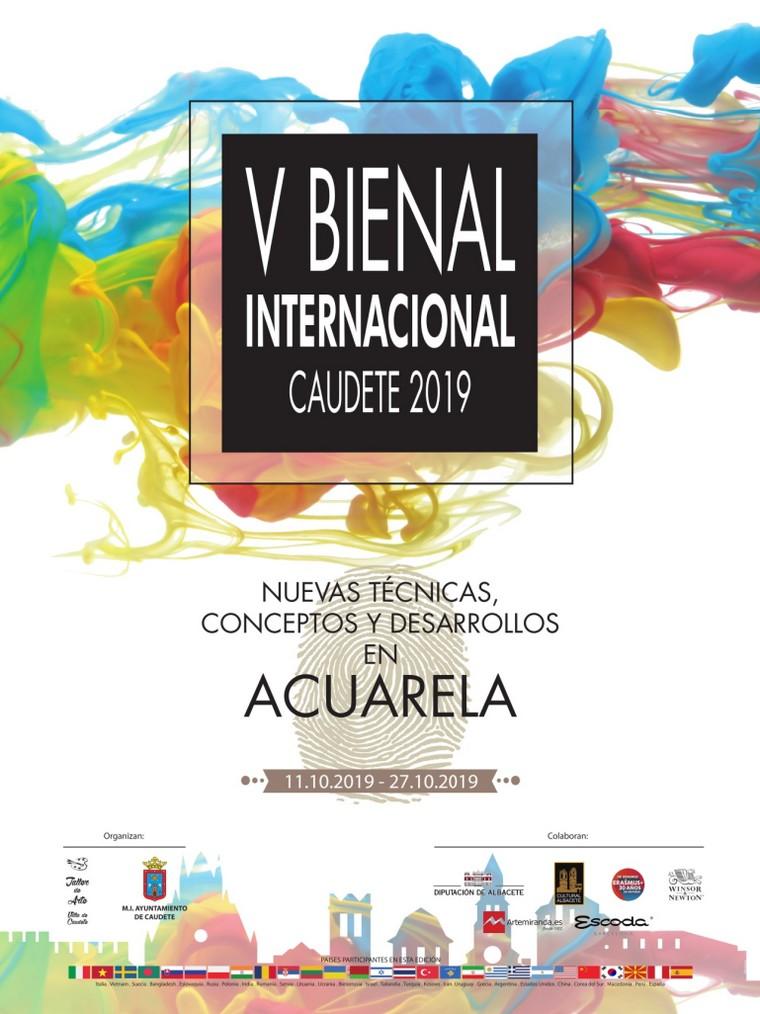 Todo preparado para que se celebre en Caudete la V Bienal Internacional de Nuevas Técnicas, Conceptos y Desarrollos en Acuarela Caudete 2019, Caudete Digital - Noticias y actualidad de Caudete (Albacete)