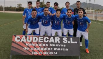 El C.D. Caudetano venció por 2-1 a El Bonillo