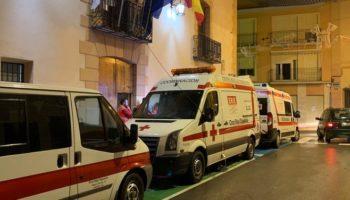 Cruz Roja activa el Equipo de Respuesta Inmediata en Emergencias (ERIE) en Caudete y Almansa