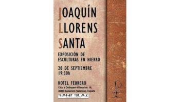 Joaquín Llorens Santa expondrá sus esculturas en el Hotel Ferrero