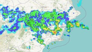 Se recomienda extremar las precauciones ante la llegada de nuevas lluvias a Caudete durante la tarde