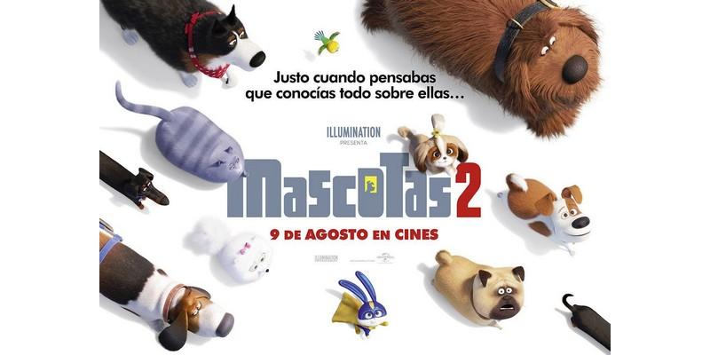 El domingo 22 de septiembre se proyectará la película 'Mascotas 2', Caudete Digital - Noticias y actualidad de Caudete (Albacete)