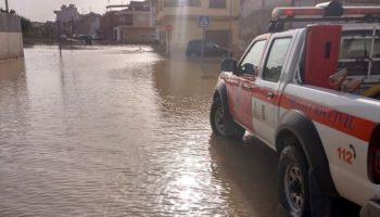 La Agrupación de Voluntarios de Protección Civil de Caudete ha colaborado este fin de semana en Orihuela, Almoradí y Dolores
