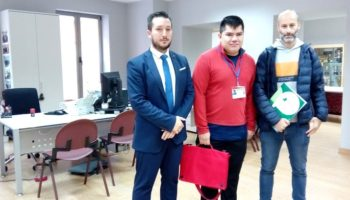 El Ayuntamiento de Caudete posibilita en sus servicios las prácticas con usuarios de Asprona