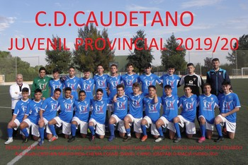 C.D. Caudetano Juvenil – Temporada 2019/2020
