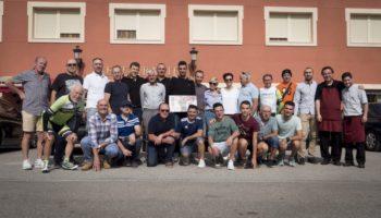 Héctor Sáez participó en la contrarreloj organizada por el Club Ciclista Caudete