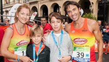Natacha López se proclamó Campeona de España Máster 35 en el Maratón de Logroño