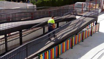 Han terminado las obras para mejorar la accesibilidad en el Colegio 'Alcázar y Serrano'