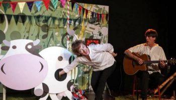 Mañana se representará la obra de teatro infantil 'Muuu... las cosas de Celia'