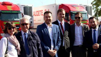 Transportes Caudete dispone desde hoy de 30 camiones propulsados por gas natural