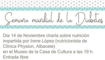 La Asociación de Diabéticos de Caudete (ADICA) organiza una charla y una cena de sobaquillo