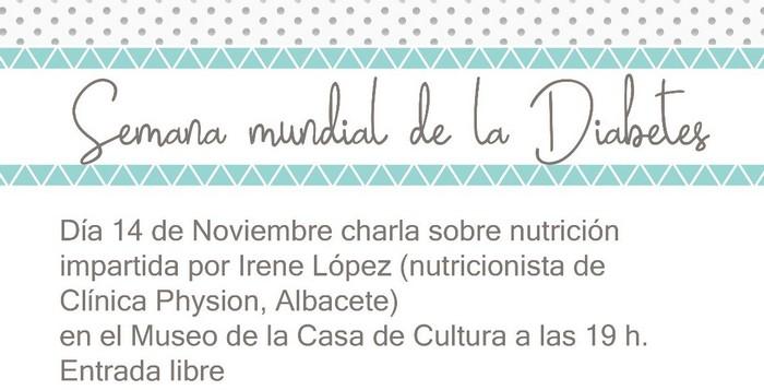 La Asociación de Diabéticos de Caudete (ADICA) organiza una charla y una cena de sobaquillo, Caudete Digital - Noticias y actualidad de Caudete (Albacete)