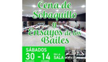 Organizadas cenas de sobaquillo para los días de ensayo de los Bailes del Niño