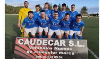 Laboriosa victoria del C.D. Caudetano por 4 - 0 frente al Mahora