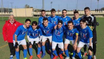 Triste derrota del C.D. Caudetano por 0-3 ante el Alpera, y el Juvenil golea 2-6 al Albacer C