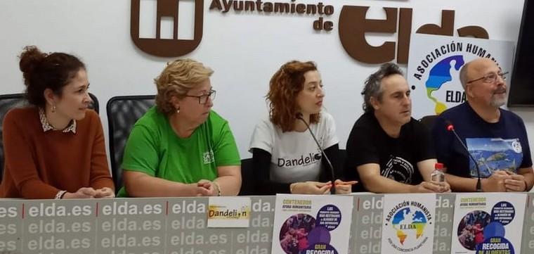 Caudete Se Mueve participa en una campaña de recogida de alimentos y productos infantiles destinados a los refugiados sirios, Caudete Digital - Noticias y actualidad de Caudete (Albacete)