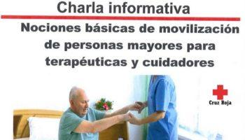 Cruz Roja Caudete organiza una charla informativa sobre la movilización de personas mayores