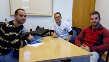 La nueva directiva del Centro Excursionista ha mantenido una reunión de trabajo con el Equipo de Gobierno