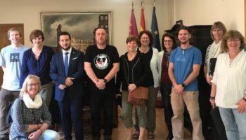 El Ayuntamiento de Caudete y el Centro de Formación alemán JAW- DITHMARSCHEN colaboran en un programa de Erasmus+