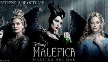 En diciembre llegará al Auditorio Municipal de Caudete la película 'Maléfica. Maestra del Mal'