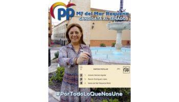 Carmen Navarro, Diputada en el Congreso por el PP de Albacete, mantuvo una reunión con afiliados y simpatizantes del PP