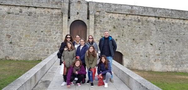 Alumnas y profesores del colegio Gloria Fuertes realizaron una movilidad del proyecto Erasmus+ en Portugal