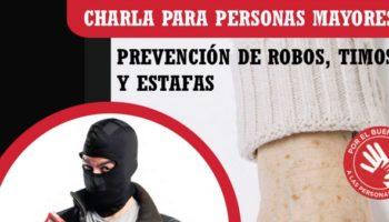 Cruz Roja Caudete organiza una charla sobre robos y timos a personas mayores