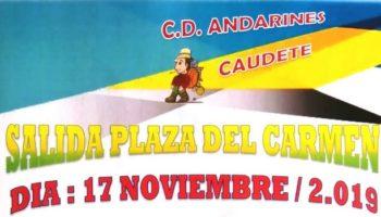 Los Andarines han programado la marcha 'Vuelta a la Sierra Santa Bárbara' para el próximo fin de semana