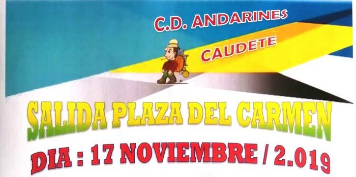 Los Andarines han programado la marcha 'Vuelta a la Sierra Santa Bárbara' para el próximo fin de semana | Caudete Digital - Noticias y actualidad de Caudete (Albacete) - Caudete Digital