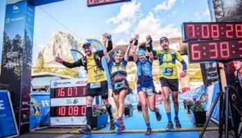 Buenos resultados para los cuatro caudetanos que participaron en la Ultra Trail Costa Blanca