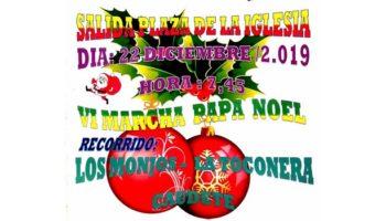 Los Andarines de Caudete realizarán el día 22 de diciembre la VI Marcha Papá Noel 'Casa Los Monjos - La Toconera - Caudete'