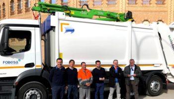 El nuevo camión de recogida de residuos de Caudete dispone de un servicio mixto de recogida, es más silencioso y tiene un menor nivel de emisiones de CO2