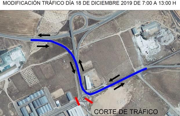 El próximo miércoles se cortará el tráfico con dirección a Valencia, Albacete y Alicante en la rotonda de Havi Logistic, Caudete Digital - Noticias y actualidad de Caudete (Albacete)
