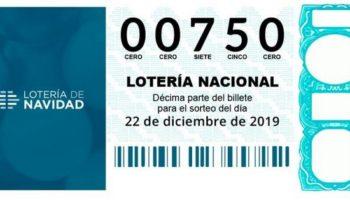 El Tercer Premio de la Lotería de Navidad ha repartido 500.000 euros en Villena