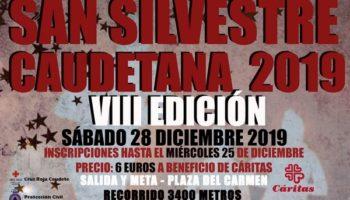 Mañana se celebrará la octava edición de la San Silvestre Caudetana